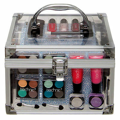 Professional Vanity Case Cosmetic Make Up Beauty Box Gift Set Makeup Kit