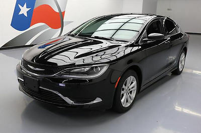 2016 Chrysler 200 Series  2016 CHRYSLER 200 LTD REAR CAM BLUETOOTH ALLOYS 46K MI #113471 Texas Direct Auto