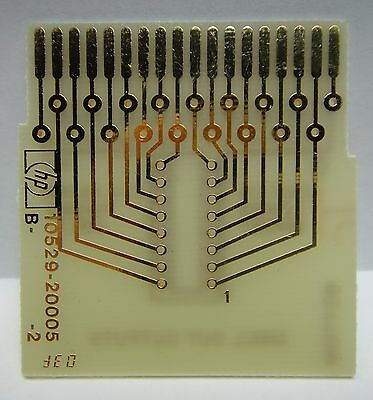 HP 10529A Logic Comparator Reference IC Cards, lot of 24 cards