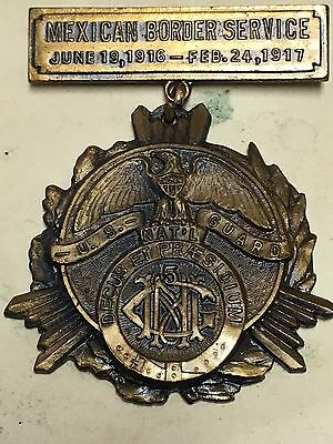 5th Maryland Infantry Mexican Border Service Medal