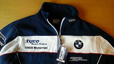 New BMW Tyco Superbikes Racing Team Sweatshirt- Official Merchandise, Size Large