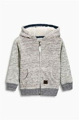 Next Baby Boy`s Hoodies Zip Jacket Size 1.5-2yrs