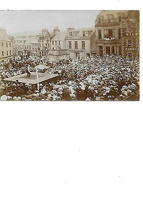 SELKIRK Early RP Flag Tossing Animated Postcard