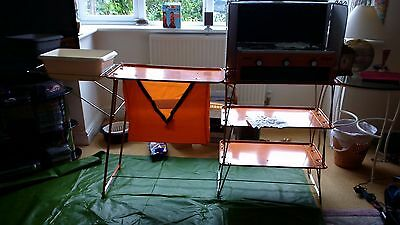 Camping Stove and Kitchen with Bowl Extension and Extra's