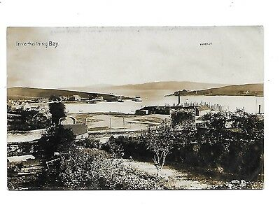 INVERKEITHING Bay Early RP Fife Postcard