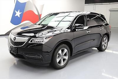 2015 Acura MDX Base Sport Utility 4-Door 2015 ACURA MDX SUNROOF HTD SEATS REAR CAM THIRD ROW 46K #001926 Texas Direct