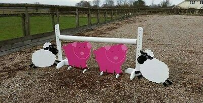 2 x PIGS SHOW JUMP FILLERS