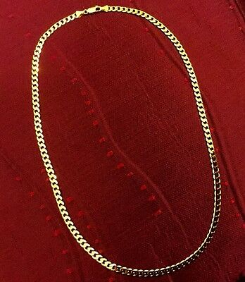 9ct Solid GOLD (15.7 GRAM) FULLY HALLMARKED (20 INCH ) CURB CHAIN