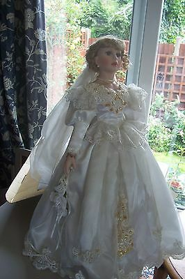 Alberon Doll Angelina 22 Inches Tall (approx)  in Box with Stand