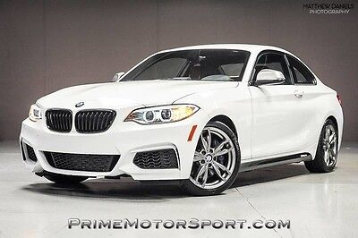 2016 BMW 2-Series Base Coupe 2-Door 2016 BMW M235I 1OWNER XENONS MOONROOF DELETION PRISTINE COND ONLY 17K MI