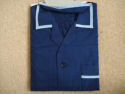 Mens Pyjamas - Navy Blue - Large ( 104 - 109cm Chest) - BHS - NEW