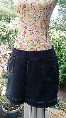 Mothercare Denim Maternity Skirt Size 12