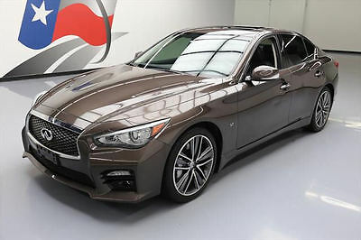 2014 Infiniti Q50  2014 INFINITI Q50 SPORT SUNROOF NAV REARVIEW CAM 42K MI #676643 Texas Direct