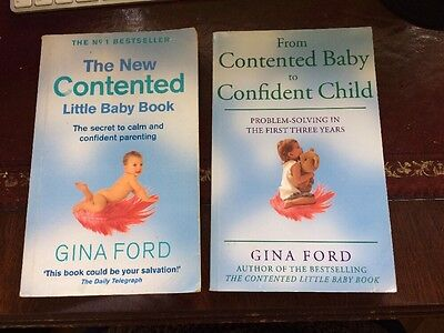Gina Ford - Contented Baby / Contented Child Books
