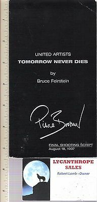 Tomorrow Never Dies by Bruce Feirstein (1997 United Artists Screenplay) F062317