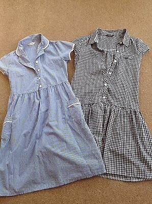 Girls Uniform School Dresses M&S Age 10/ George Age 11-12