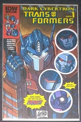 The TransFormers: Dark Cybertron IDW Comics #1 Liefeld VARIANT cover