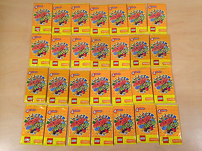 28 x 4 Cards New & Sealed Lego Trading Sainsbury's Create The World Collectable