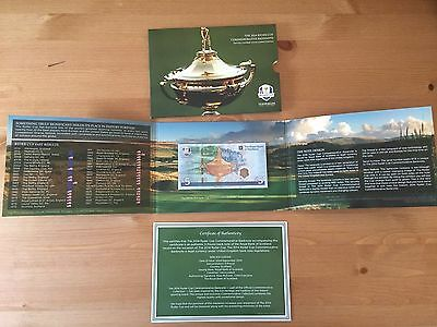 Royal Bank of Scotland 2014 Ryder Cup Commemorative Banknote