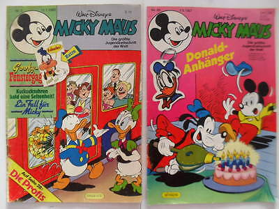 Micky Maus Comic Nr.3 und Nr.20 Donald Duck Fix u. Foxi