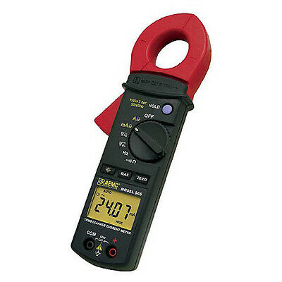 AEMC 565 Clamp-On Leakage Current Meter (TRMS, 100A, 600V AC/DC, Hz, Ohms)