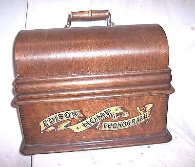 Edison Home Phonograph Restored Case