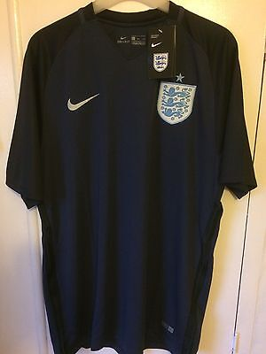 2017 England away football shirt Nike medium men's BNWT Three Lions