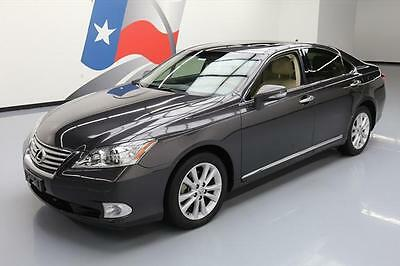 2012 Lexus ES Base Sedan 4-Door 2012 LEXUS ES350 CLIMATE LEATHER SUNROOF NAV ALLOYS 39K #497891 Texas Direct