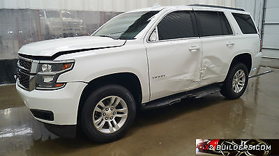 2015 Chevrolet Tahoe LT Sport Utility 4-Door 2015 Chevrolet Tahoe LT 5.3, Salvage Title, Repairable, Rebuildable #504074