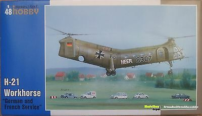 Special Hobby 48088 H-21 Workhorse  1:48