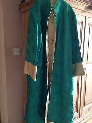 vintage oriental/chinese coat/jacket mens/ladies great for theatre etc