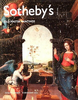OLD MASTER PAINTINGS Sothebys Catalog Art Antique Oil Painting Drawings 12 2002