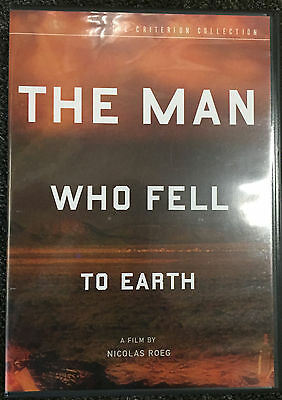 "David Bowie Movie "" The Man Who Fell To Earth "" DVD"