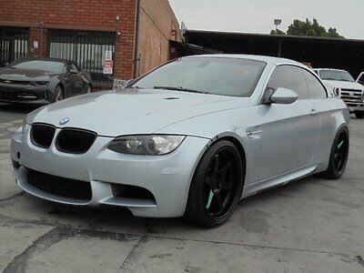 2008 BMW M3 Convertible 2008 BMW M3 Convertible Clean Title Mechanical Damage Priced to Sell Must See!!