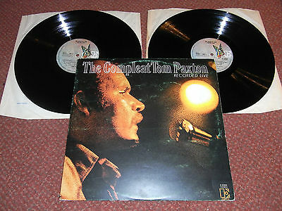 TOM PAXTON The Compleat Recorded Live DOUBLE LP 1971 Elektra