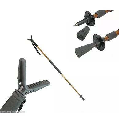 Adjustable Air Rifle / Gun Shooting Stick Rest Monopod Hunting in Camo Pattern
