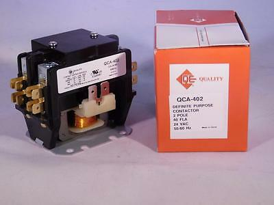 40 amp 2 pole 24 vac NEW Definite Purpose contactor relay HVAC FREE SHIP