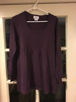 oh baby by motherhood Size Small Thin Sweater Plum
