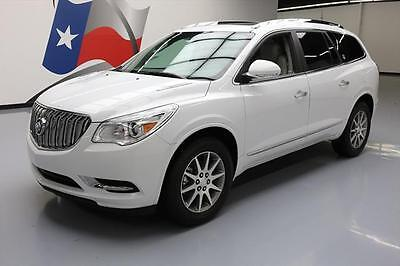 2017 Buick Enclave Leather Sport Utility 4-Door 2017 BUICK ENCLAVE LEATHER 7-PASS HTD SEATS SUNROOF 22K #122796 Texas Direct