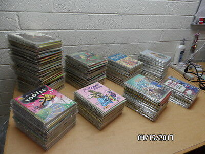 Large Lot of Vintage Little Golden Books - 246 Books, No Doubles, Some First Ed