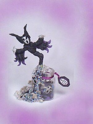 HAUNTED Potion Gothic Halloween Maleficent Dollhouse Miniature OOAK 1:12 PASSION