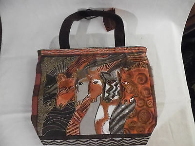 Laurel Burch Horse Purse Tote