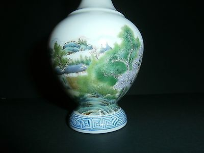 Rare Antique Chinese Porcelain Hand Painted Vase Signed