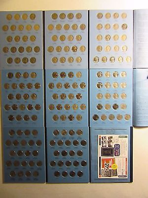 "Usa Jefferson Nickel Set Complete 1938-2015 Pds 174 Coins Bu 50-D ""great Gift"""