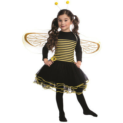 Bumblebee Costume Set For Girls Kids Bumble Bee Dress - By Dress up America