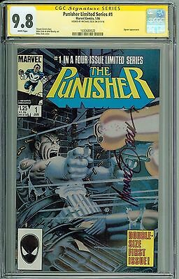 * PUNISHER Limited Series #1 CGC 9.8 SS Signed by Michael Zeck! (1330680022) *