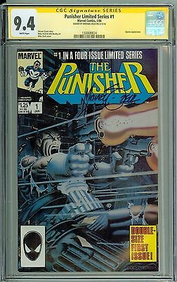 * PUNISHER Limited Series #1 CGC 9.4 SS Signed by Michael Zeck! (1330680024) *