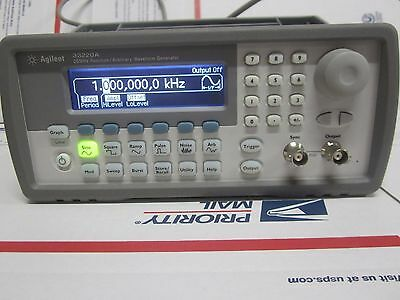 HP AGILENT 33220A 20MHz FUNCTION ARBITRARY WAVEFORM GENERATOR