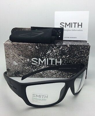 0133a34ae219 New SMITH OPTICS Sunglasses FRONTMAN TACTICAL ELITE Black w/ ANSI Z87.1  Clear