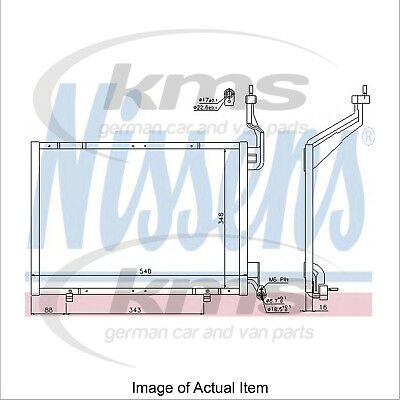 New Air Conditioning Condenser NISSENS 940287 Top Quality